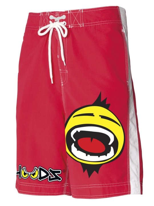 red shout shorts