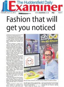 The Huddersfield Daily Examiner, 22 July 2014