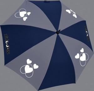 Zhoodz 'Dog Heart' Umbrella RRP £23.50 (reflective)
