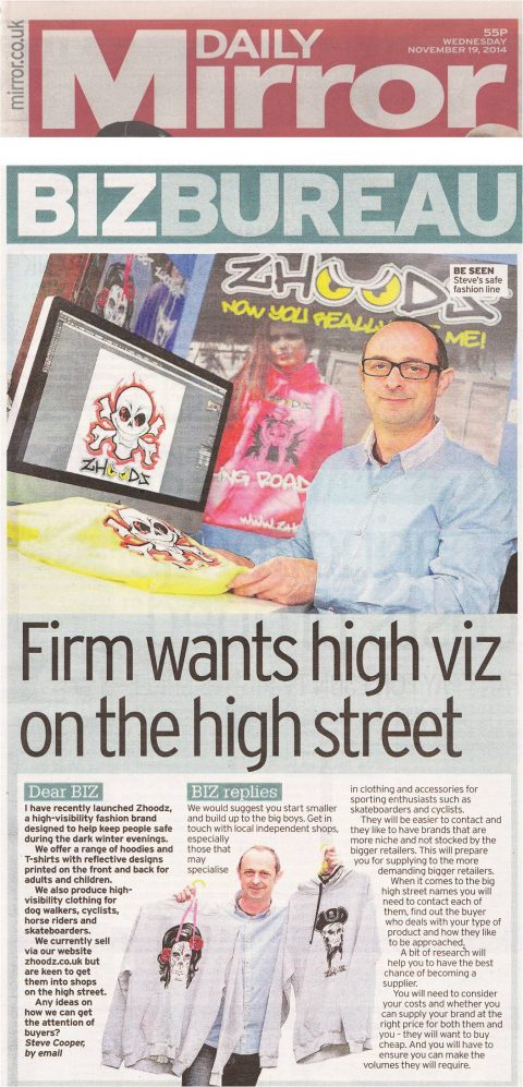 Daily Mirror 19 November