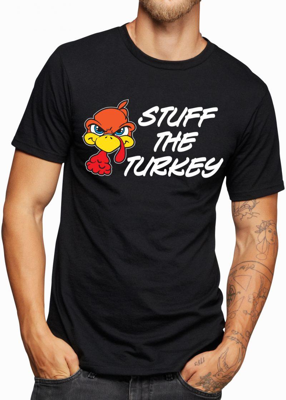Stuff the turkey t shirt zhoodz for Shirts made in turkey