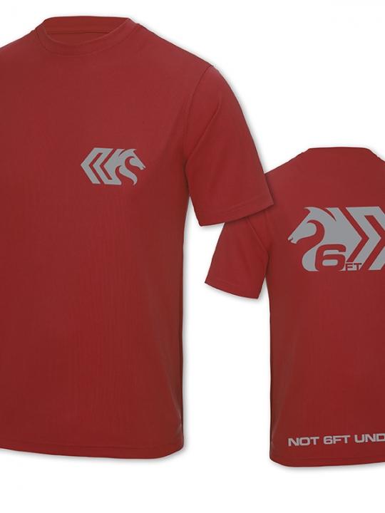 Red T-shirts B